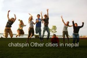 Chatspin Other cities in nepal